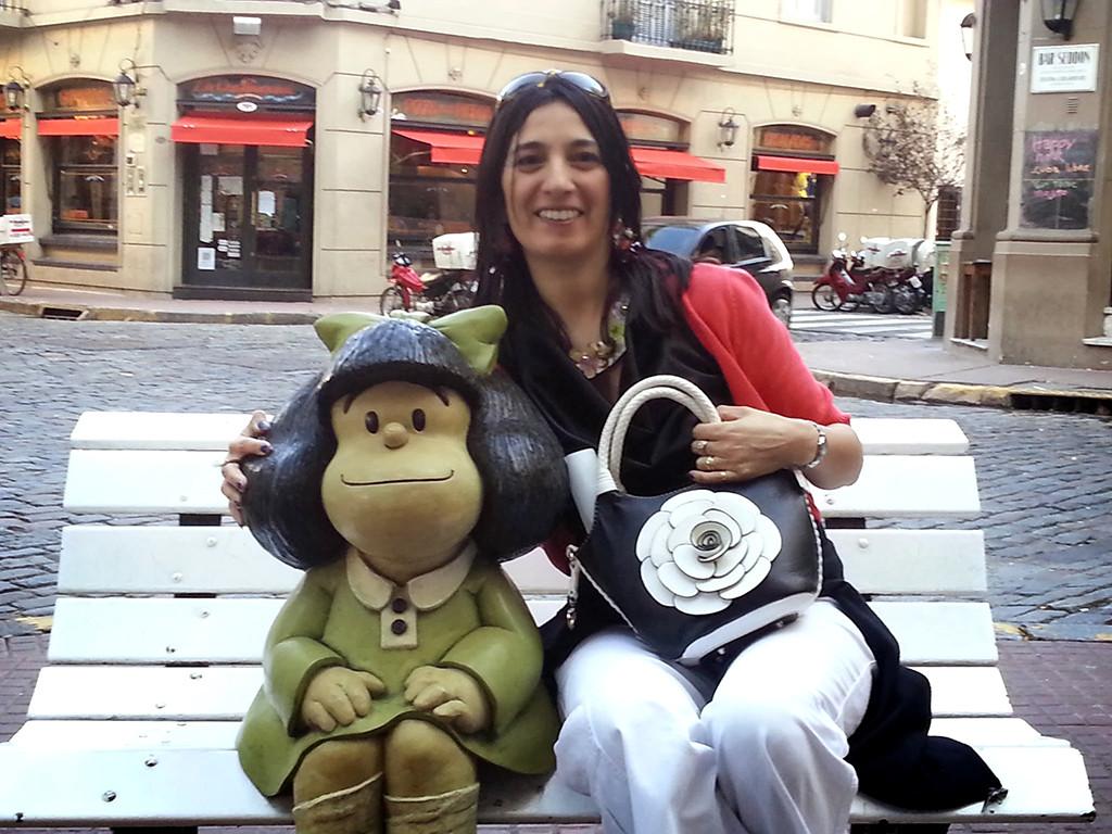 Fernanda Martino voor Spaans en Italiaans